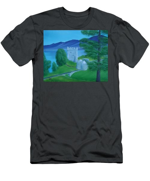 Urquhart Castle Men's T-Shirt (Athletic Fit)