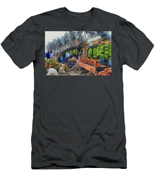 Vegetable Sellers Men's T-Shirt (Athletic Fit)