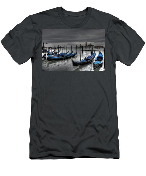 Venice Gondolas  Men's T-Shirt (Athletic Fit)