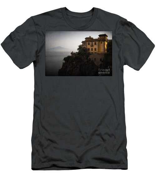 Vesuvius From Sorrento Men's T-Shirt (Athletic Fit)