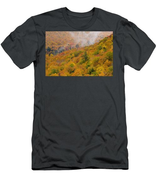 View From North Mountain Look-off Men's T-Shirt (Athletic Fit)