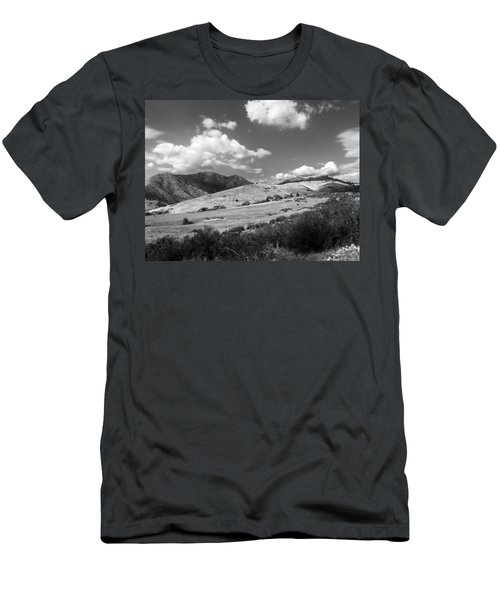 Men's T-Shirt (Slim Fit) featuring the photograph View Into The Mountains by Kathleen Grace