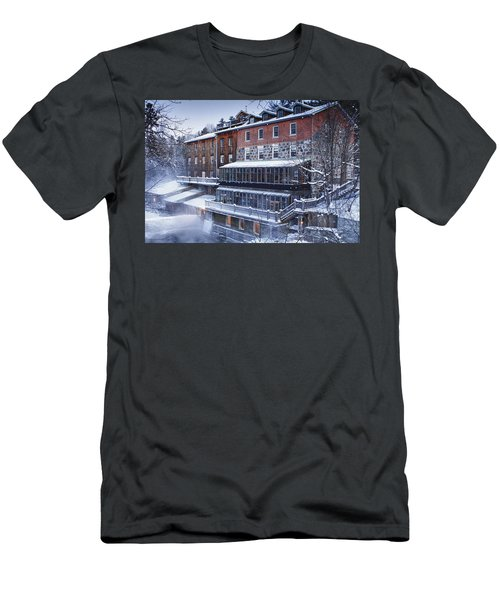Men's T-Shirt (Slim Fit) featuring the photograph Wakefield Inn by Eunice Gibb