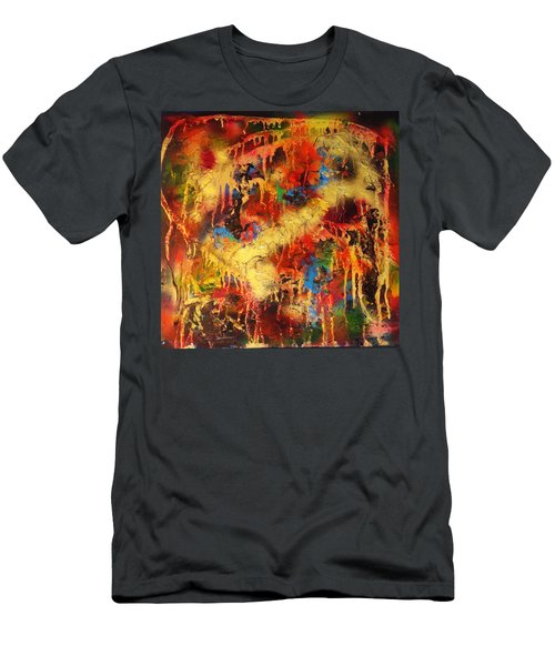 Walk Through The Fire Men's T-Shirt (Athletic Fit)