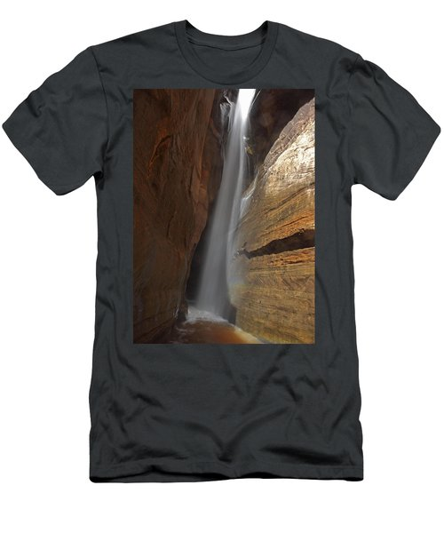 Water Canyon Men's T-Shirt (Athletic Fit)