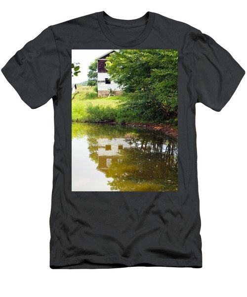 Water Reflections Men's T-Shirt (Athletic Fit)