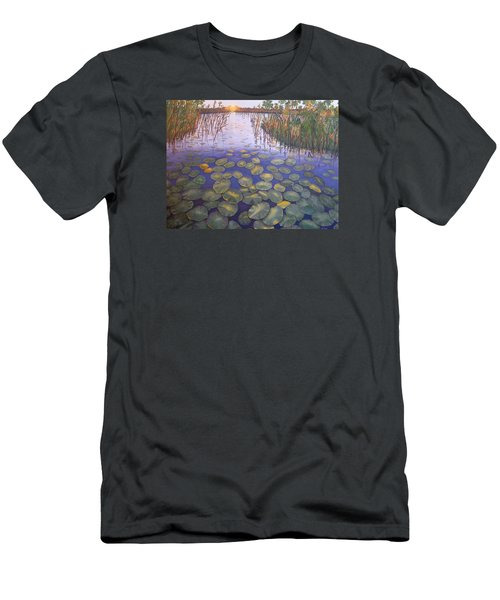 Waterlillies South Africa Men's T-Shirt (Athletic Fit)