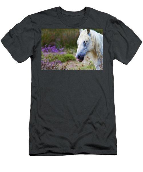 White Horse Men's T-Shirt (Athletic Fit)