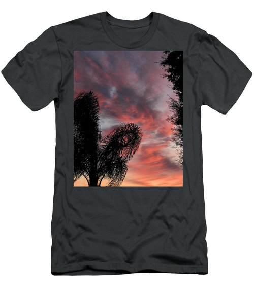 Windswept Clouds Men's T-Shirt (Athletic Fit)