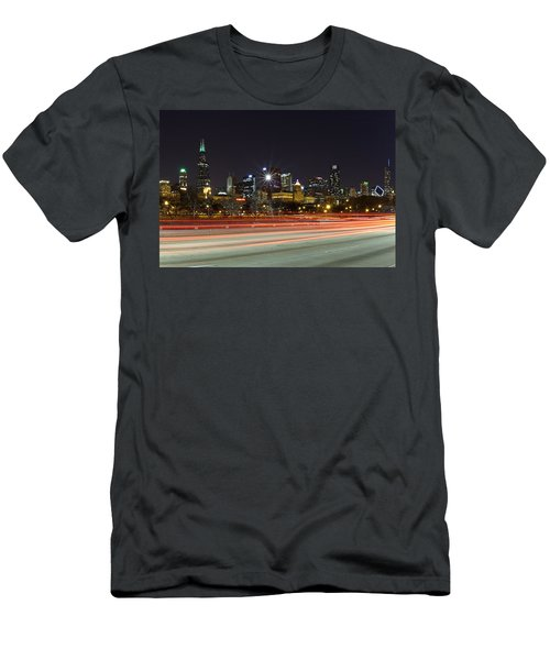 Windy City Fast Lane Men's T-Shirt (Athletic Fit)