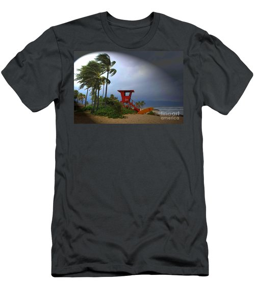 Windy Day In Haleiwa Men's T-Shirt (Athletic Fit)