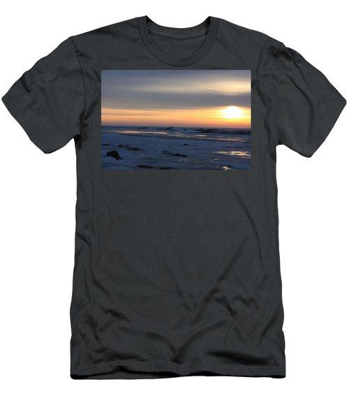 Winter Sleeps Men's T-Shirt (Athletic Fit)