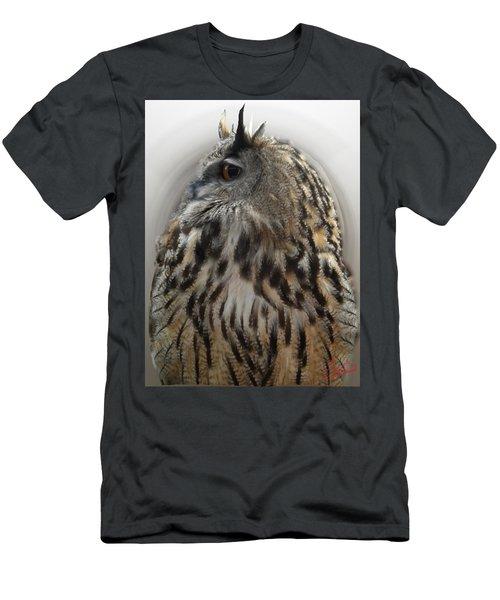Wise Forest Owl Alicante Region Spain Men's T-Shirt (Athletic Fit)