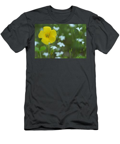 Wood Sorrel And Sandwort Men's T-Shirt (Athletic Fit)