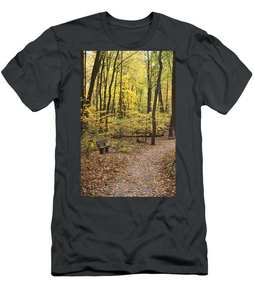 Woodland Respite Men's T-Shirt (Athletic Fit)