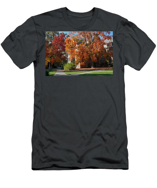 Men's T-Shirt (Slim Fit) featuring the photograph WPA by Joseph Yarbrough