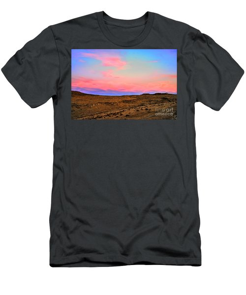 Wyoming Lights Men's T-Shirt (Athletic Fit)