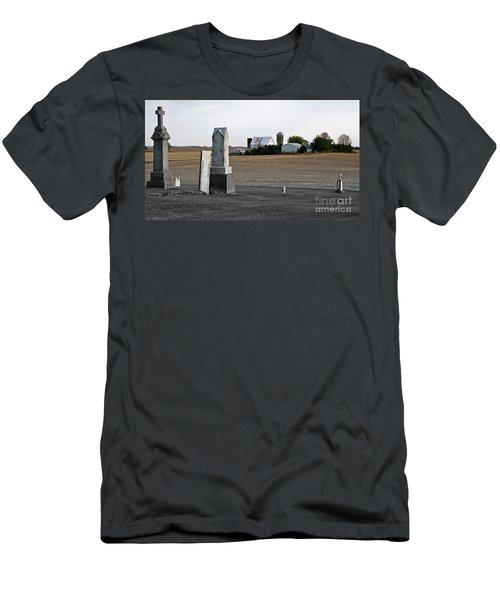 Ye Olde Farmstead Men's T-Shirt (Slim Fit) by Sue Stefanowicz