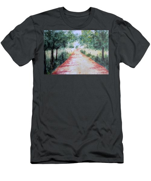 A Country Road Men's T-Shirt (Athletic Fit)