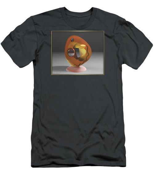' A Hollowed Orb_light On ' Men's T-Shirt (Slim Fit)