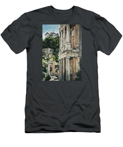 Ancient Amphitheater Men's T-Shirt (Athletic Fit)