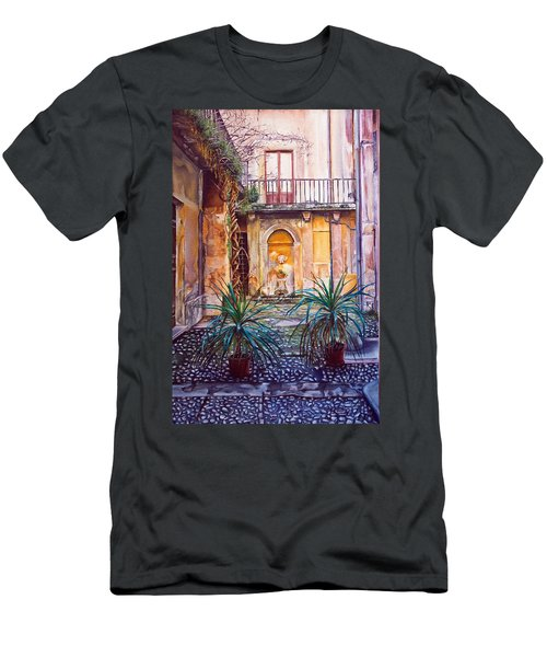 Courtyard Men's T-Shirt (Slim Fit)