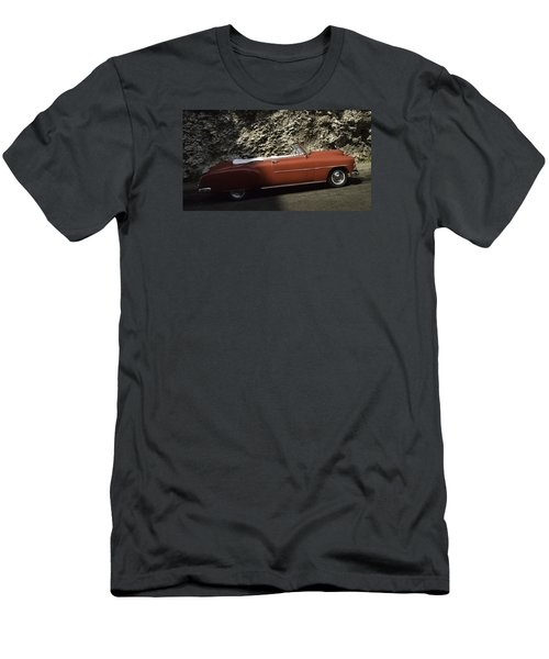 Cuba Car 7 Men's T-Shirt (Slim Fit) by Will Burlingham
