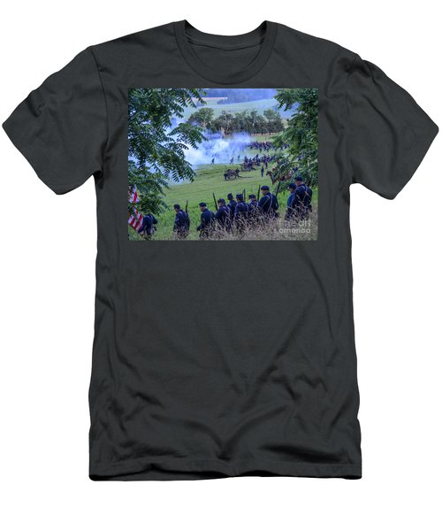 Gettysburg Union Artillery And Infantry 7465c Men's T-Shirt (Athletic Fit)