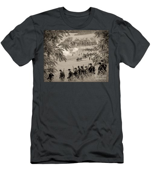 Gettysburg Union Artillery And Infantry 7465s Men's T-Shirt (Athletic Fit)