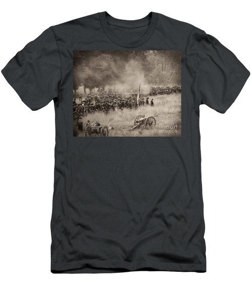 Gettysburg Union Artillery And Infantry 8456s Men's T-Shirt (Athletic Fit)