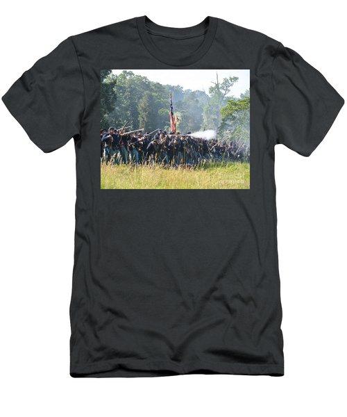 Gettysburg Union Infantry 9372c Men's T-Shirt (Athletic Fit)