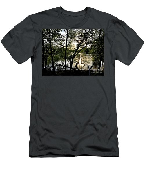 Men's T-Shirt (Slim Fit) featuring the photograph  In The Shadows  - No. 430 by Joe Finney