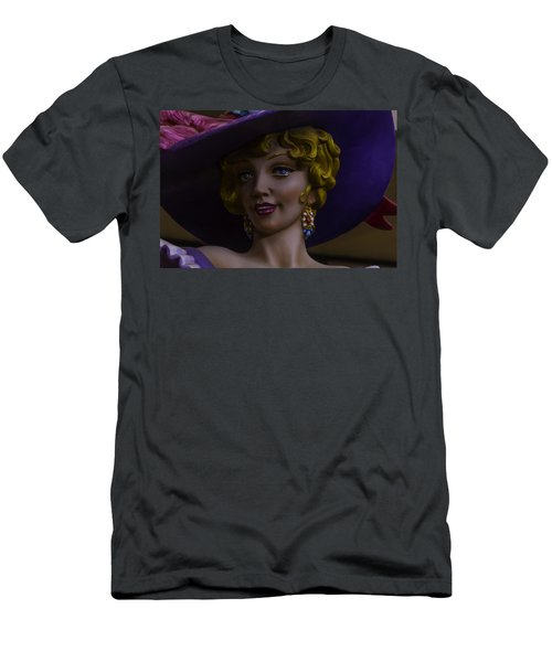 Mardi Gras Woman Men's T-Shirt (Athletic Fit)