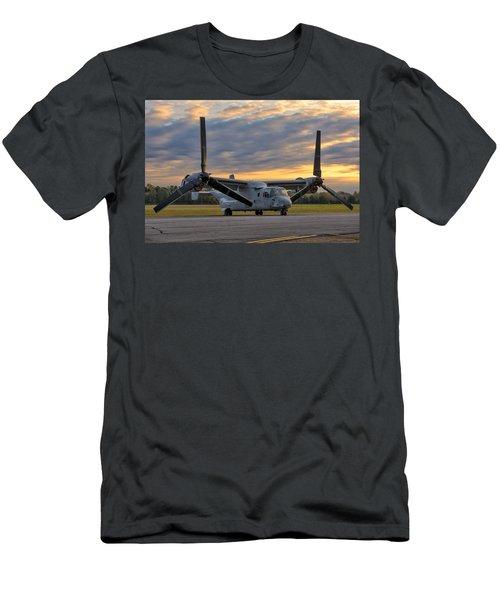 Osprey At Daybreak Men's T-Shirt (Athletic Fit)