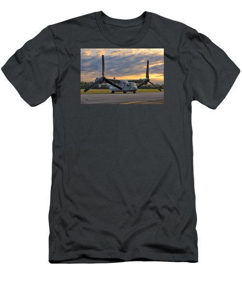 Osprey At Daybreak Men's T-Shirt (Athletic Fit)