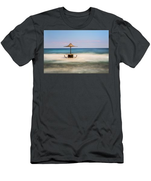 Seaside Bar Men's T-Shirt (Athletic Fit)