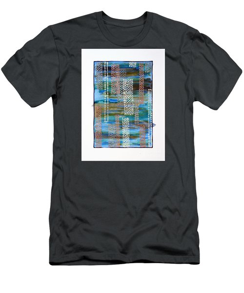 01332 Straight Men's T-Shirt (Slim Fit) by AnneKarin Glass