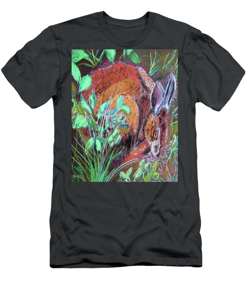 032917louisiana Swamp Rabbit Men's T-Shirt (Athletic Fit)