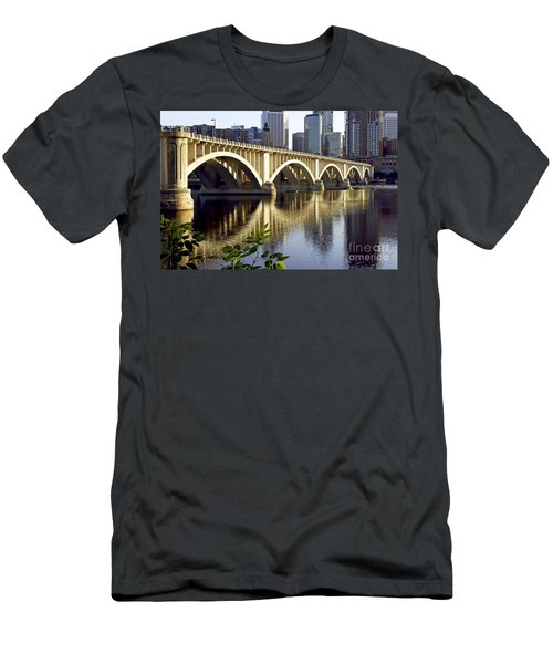 0333 3rd Avenue Bridge Minneapolis Men's T-Shirt (Athletic Fit)