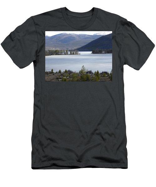 Granby Lake Rmnp Men's T-Shirt (Athletic Fit)