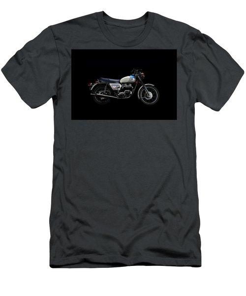 1977 Triumph Bonneville Silver Jubilee Men's T-Shirt (Athletic Fit)