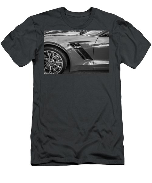 2015 Chevrolet Corvette Z06 Painted  Men's T-Shirt (Athletic Fit)