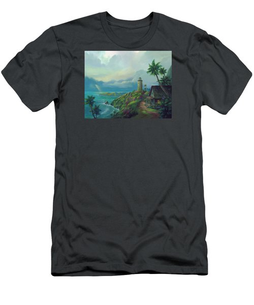 A Small Patch Of Heaven Men's T-Shirt (Slim Fit) by Michael Humphries