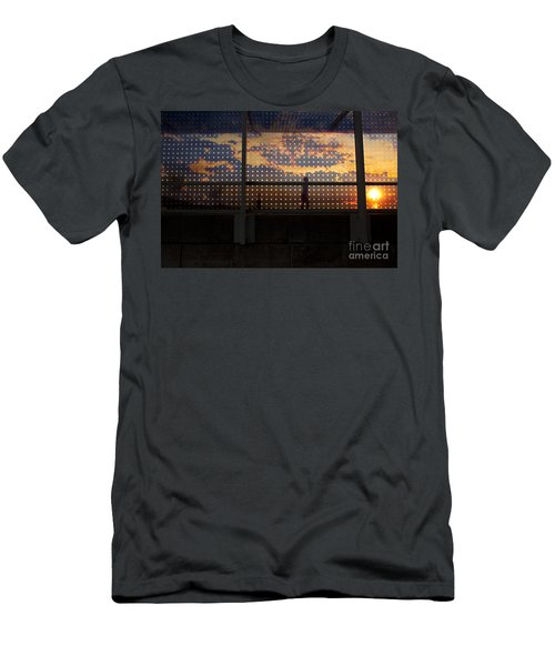 Abstract Silhouettes Men's T-Shirt (Athletic Fit)