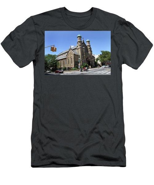 All Saints Episcopal Church Men's T-Shirt (Athletic Fit)