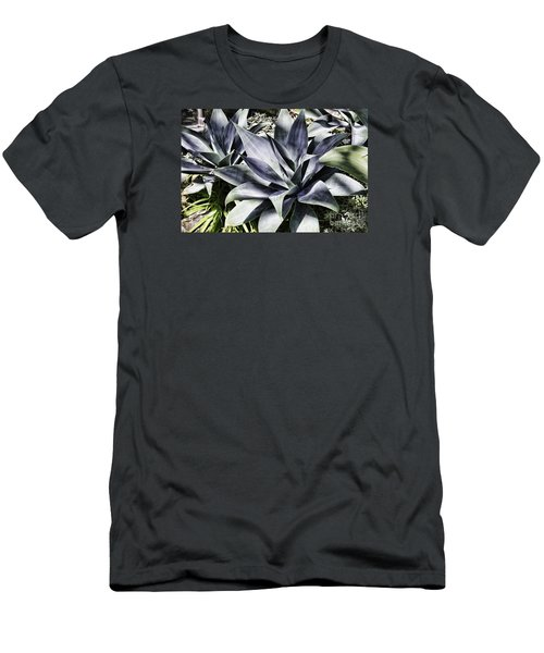 Men's T-Shirt (Slim Fit) featuring the photograph Aloe by Judy Wolinsky