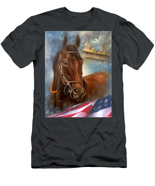 American Pharoah Men's T-Shirt (Athletic Fit)