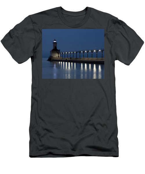 An Evening At The Lighthouse Men's T-Shirt (Athletic Fit)