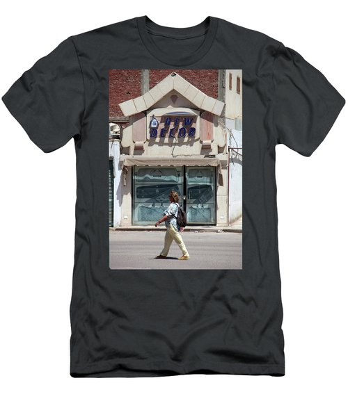 And There Men's T-Shirt (Slim Fit) by Jez C Self