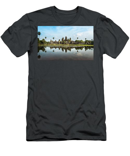 Angkor Wat Men's T-Shirt (Athletic Fit)